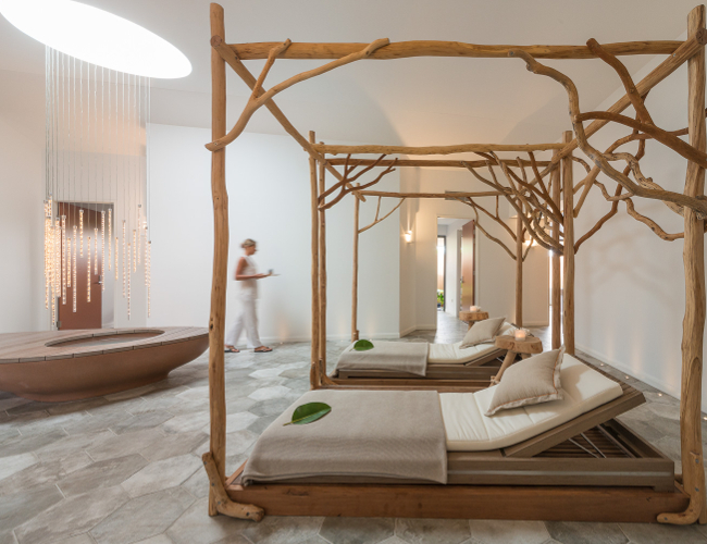 Inside the Osprey Spa (photo credit: Elements of Byron)