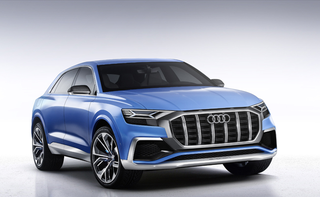 Stealing the headlines at NAIAS was the unveil of the Audi Q8 concept.