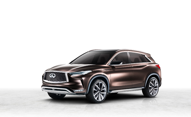INFINITE get us talking at NAIAS 2017 with the QX50 Concept.