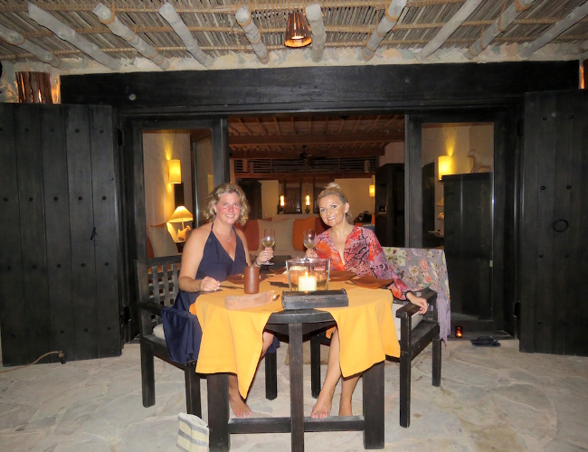 Six Senses Zighy Bay Sense on the Edge restaurant