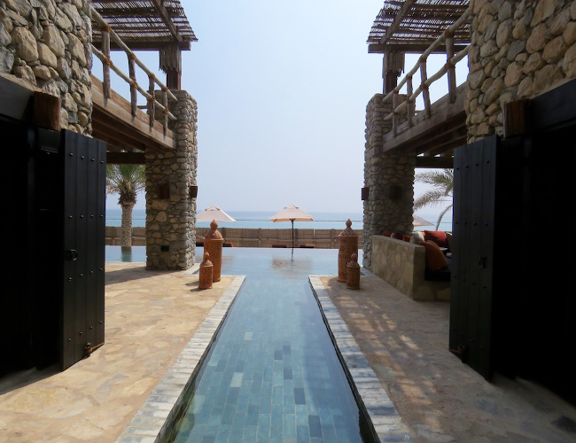 Six Senses Zighy Bay private retreat