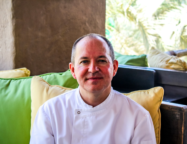 Six Senses Zighy Bay Chef Stevie
