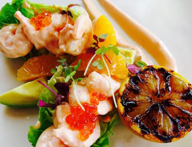Six Senses Zighy Bay Summer House restaurant lunch