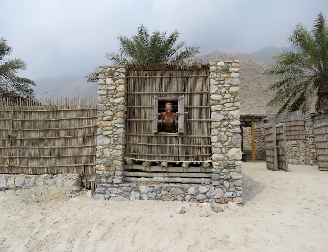 Six Senses Zighy Bay beach hut