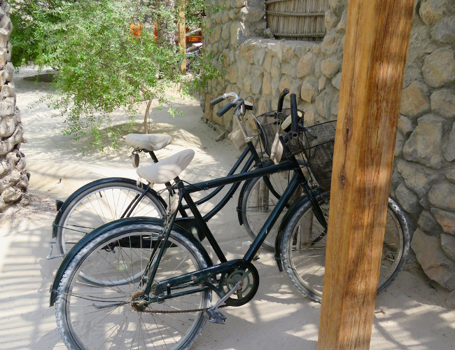 Six Senses Zighy Bay bicycles