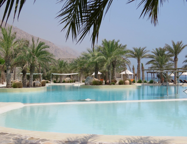 Six Senses Zighy Bay outdoor pool