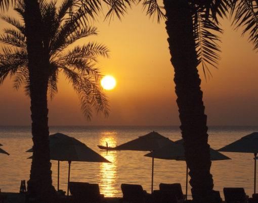 Six Senses Zighy Bay beach sunset (photo credit Six Senses)