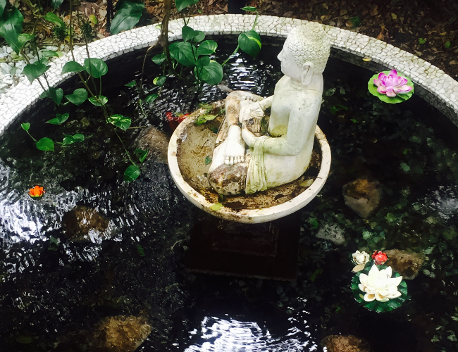 Shambhala at Byron Buddha Water Feature