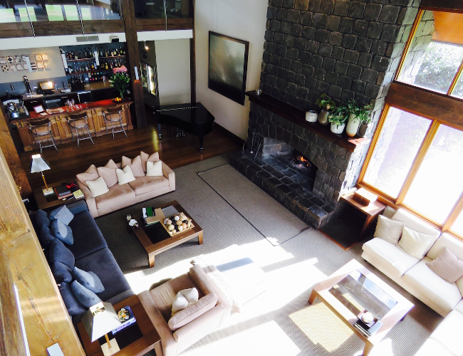 Spicers Peak Lodge main lodge overview