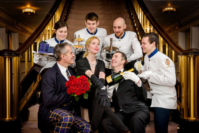 The Royal Yacht Britannia launches the most luxurious Valentine's experience that money can buy!