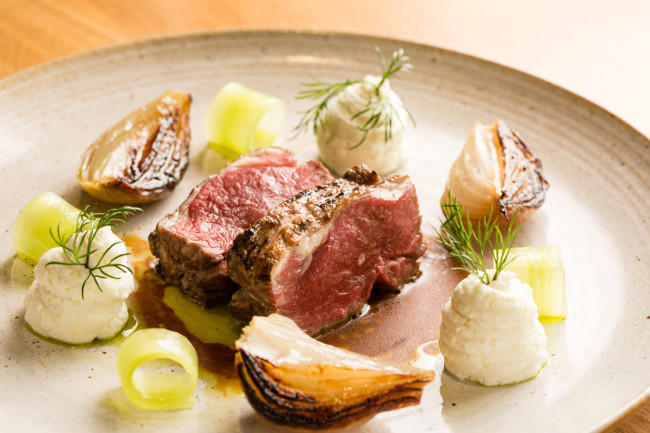 Lamb at The Olive Tree at The Queensberry