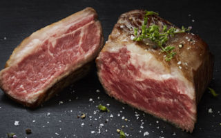 Japanese wagu steak