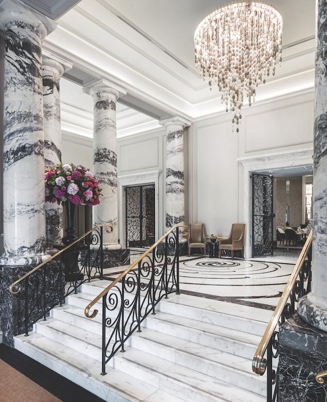 Langham London Lobby (credit Langham)