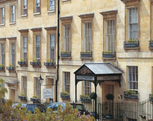 The Queensberry Hotel in Bath, Somerset