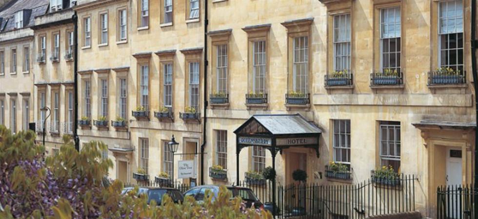 The Queensberry Hotel in Bath, Somerset
