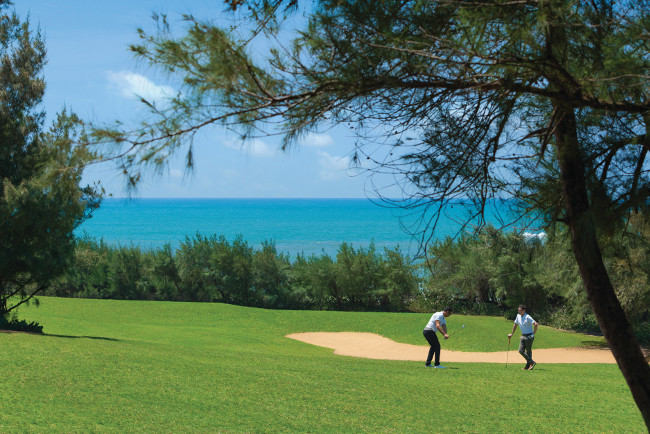Golf at Shangri La Hambantota