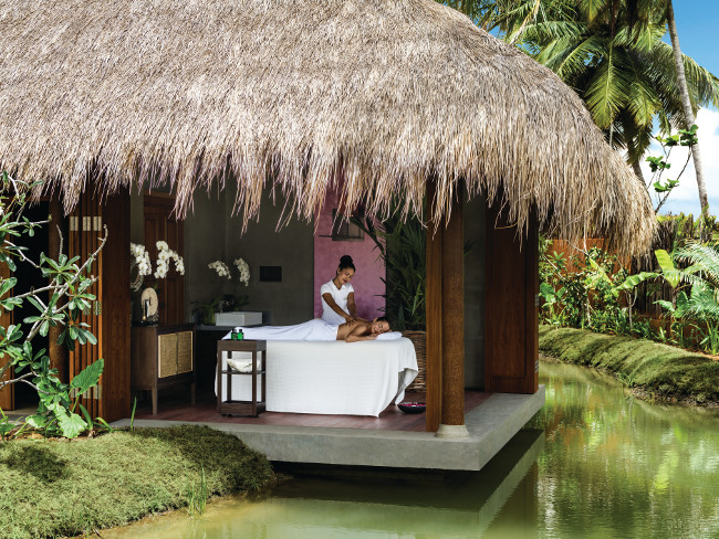 Spa treatment at Shangri La Hambantota