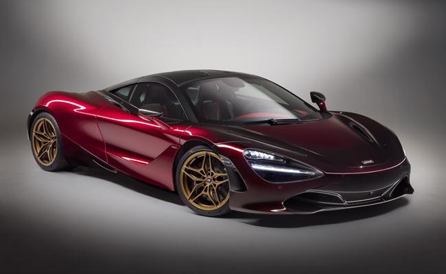 McLaren wow at Geneva International Motor Sow.