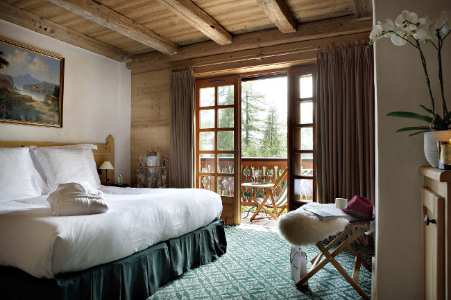 Chalet du Mont d'Arbois bedroom