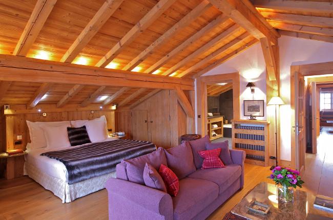 Chalet du Mont d'Arbois suite