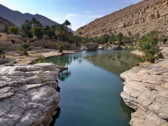 Oman Wadi Bani Khalid Oasis