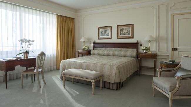 Bedroom at Four Seasons Hotel Ritz Lisbon