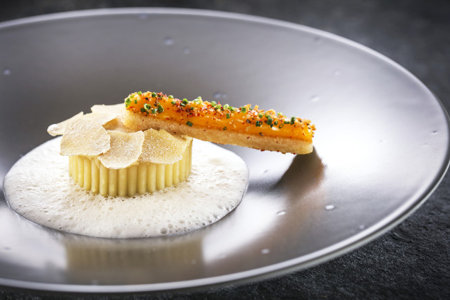 Chalet du Mont d'Arbois restaurant food