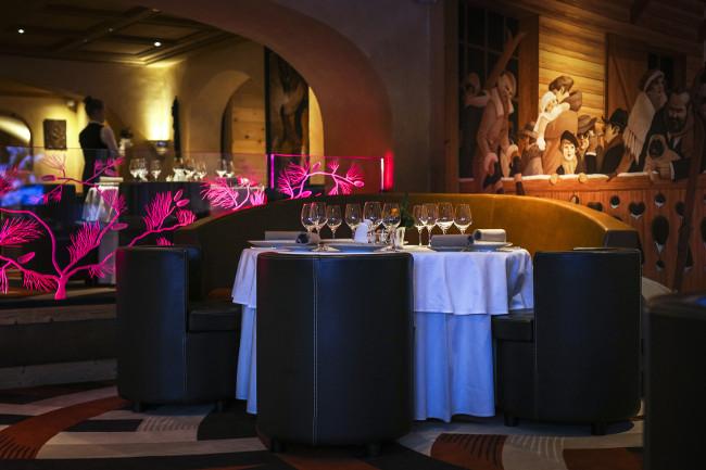 Chalet du Mont d'Arbois restaurant