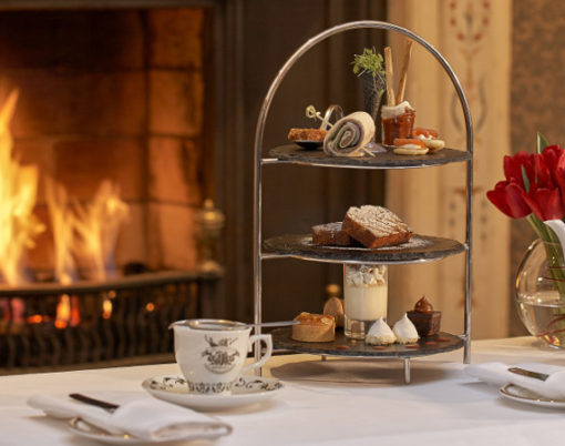 Afternoon Tea at The Attrium Lounge, The Westin Dublin in Ireland