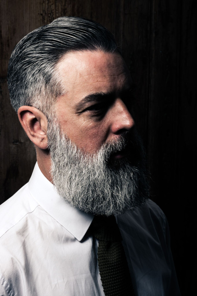 How to style a classic side-parted pompadour with award-winning barber Tom Chapman