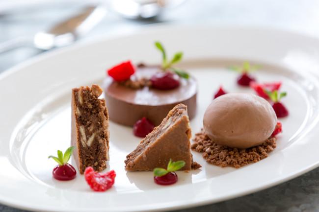 dessert at south sands hotel