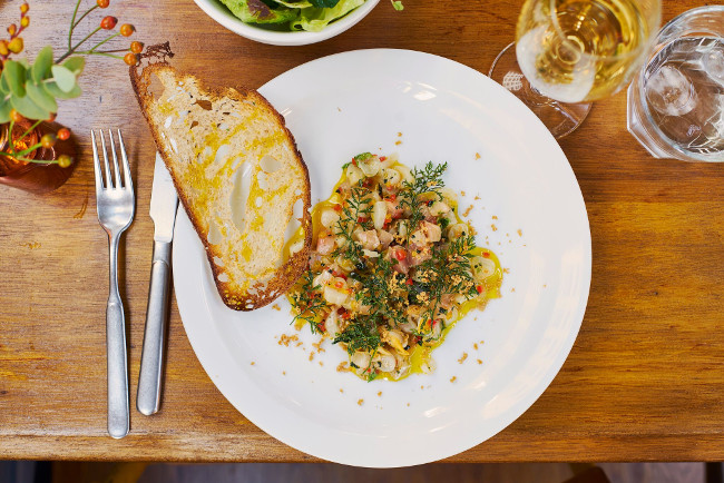 HH London Shell Co Seafood Tartare