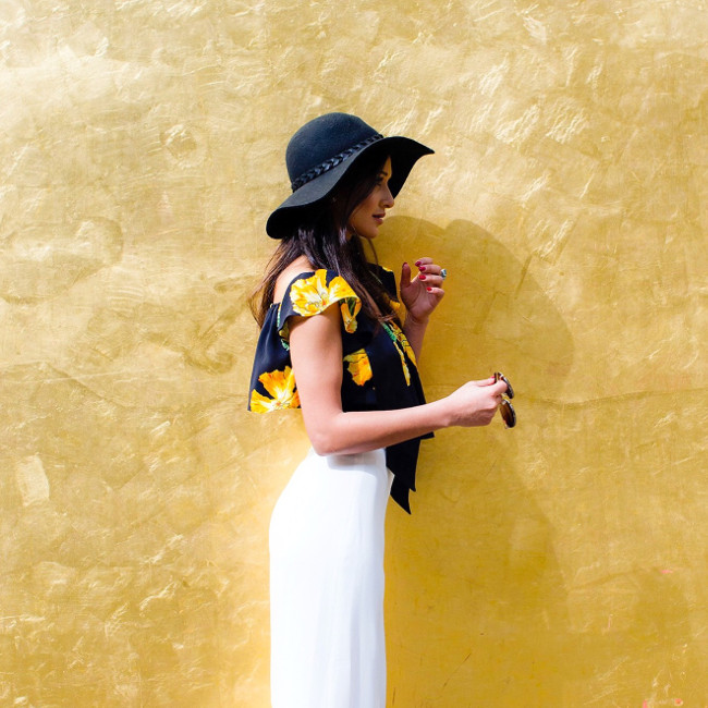British stylist Roxie Nafousi