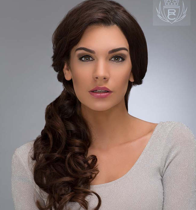 Tousled Side Ponytail from Ross Charles