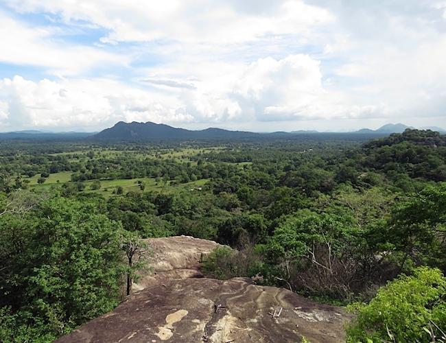 Ulpotha hilltop view