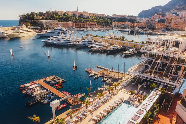 Monaco boats port