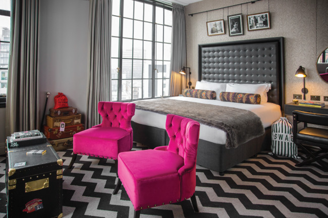 The Hotel Gotham bedroom