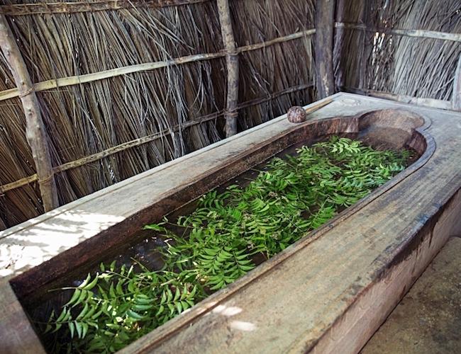ulpotha ayurveda herbal bath (credit Ulpotha)