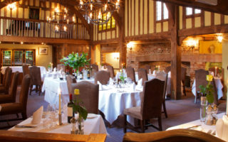 Gallery Restaurant, The Swan at Lavenham in Suffolk