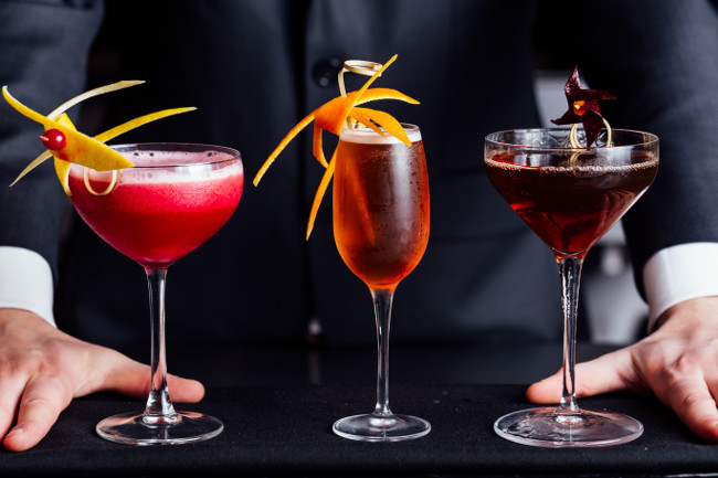 Ginza Onodera - cocktail line up