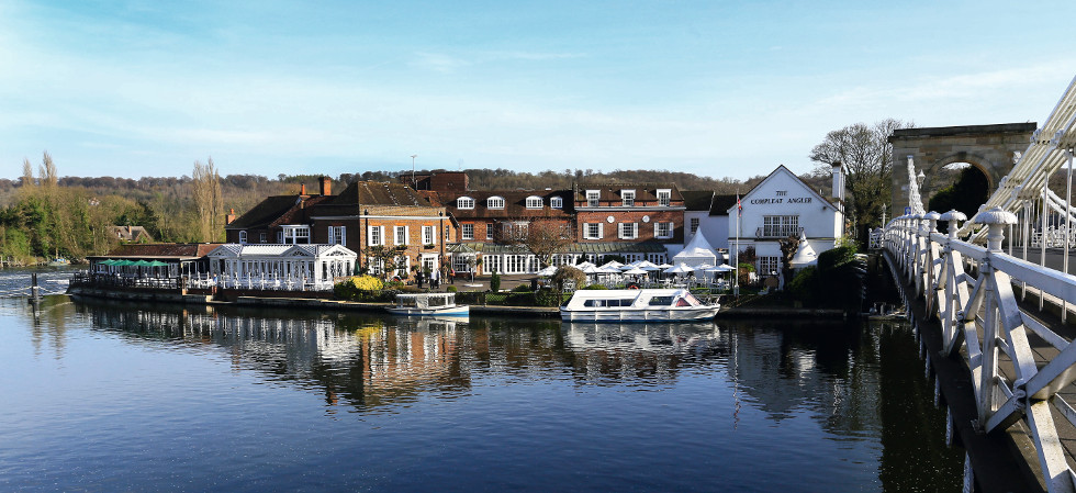 Compleat Angler Hotel In Marlow Buckinghamshire Uk