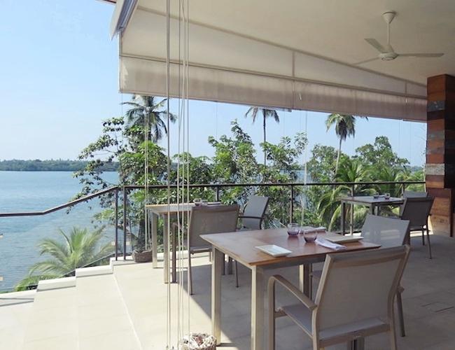 Tri outdoor deck