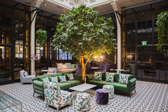The Winter Garden is the perfect spot to enjoy a cocktail