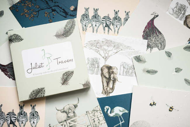 luxury wallapaper & fabric designer Juliet Travers