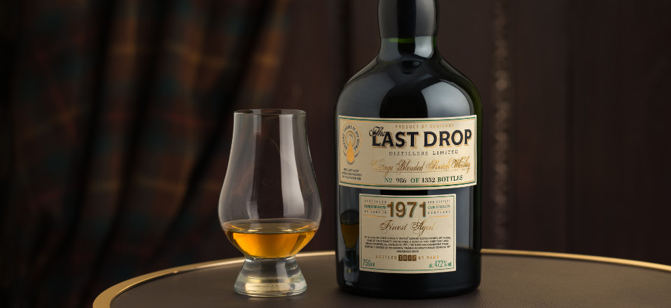 The 1971 vintage Blended Scotch Whisky