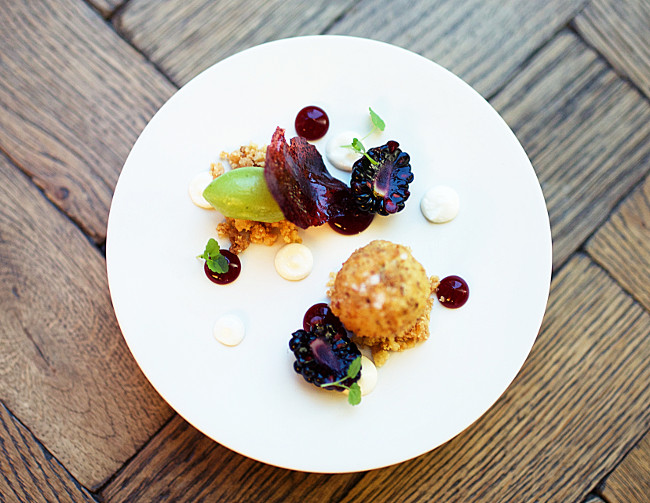 All dishes are made up of several stunning elements