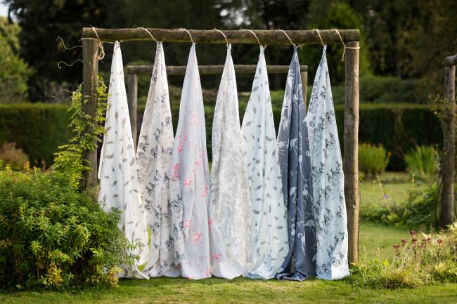 luxury wallapaper & fabric designer Juliet Travers