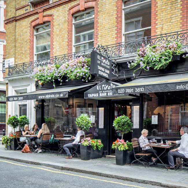 El Pirata, Mayfair in London
