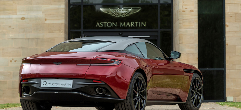 The specially commissioned DB11