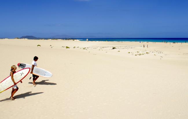 The Corralejo Dunes